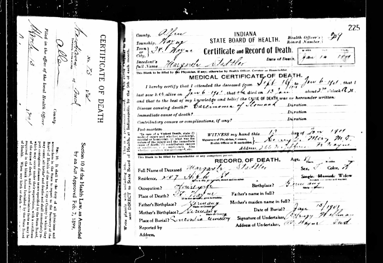 barbara grace death record 1995