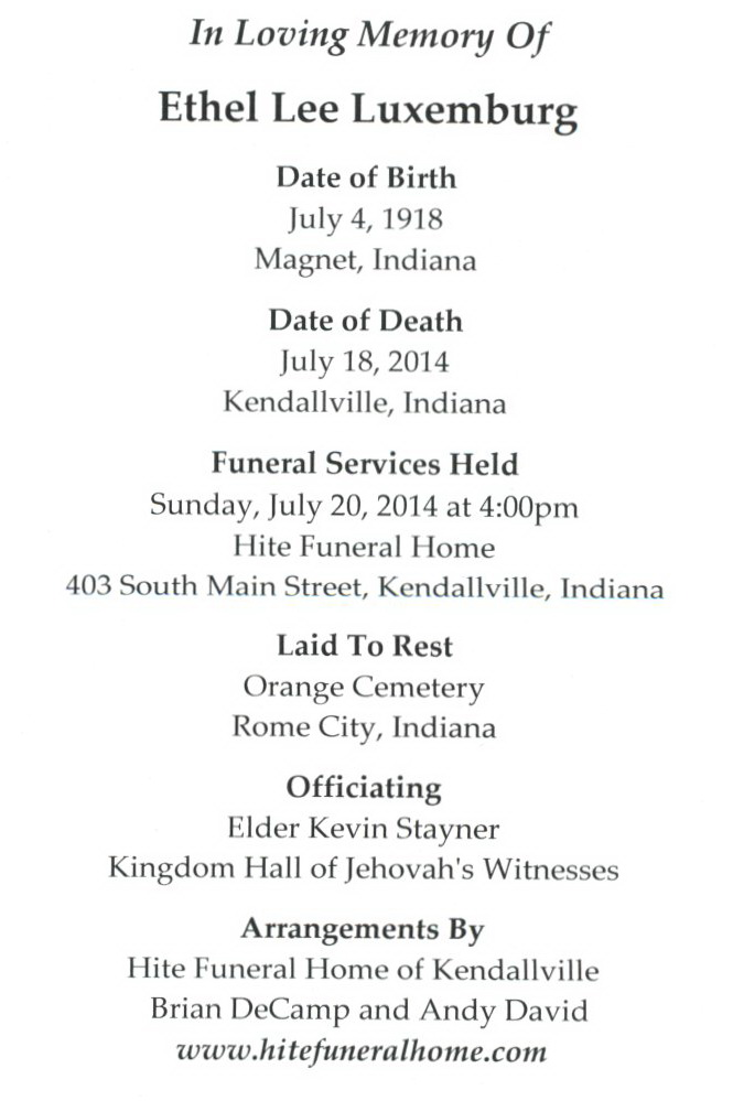 Jehovah Witness Funeral Service Related Keywords & Suggestions