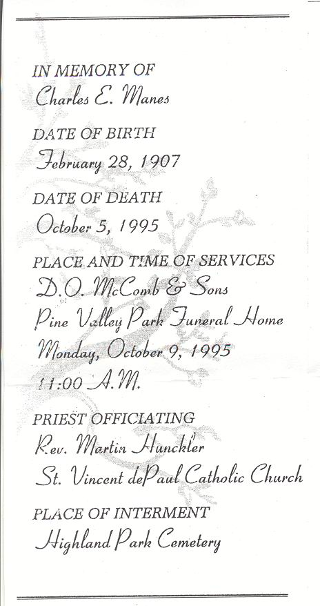 E W Maloney Sons Funeral Home