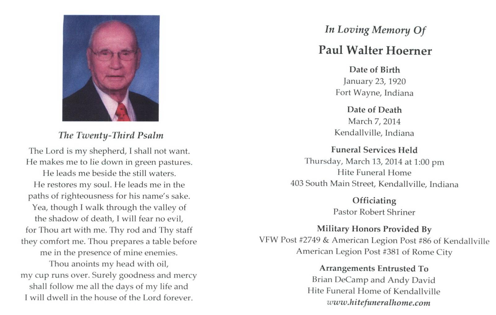 Good shepherd funeral home rome ga -  Kendallville Pastor Robert Shriner
