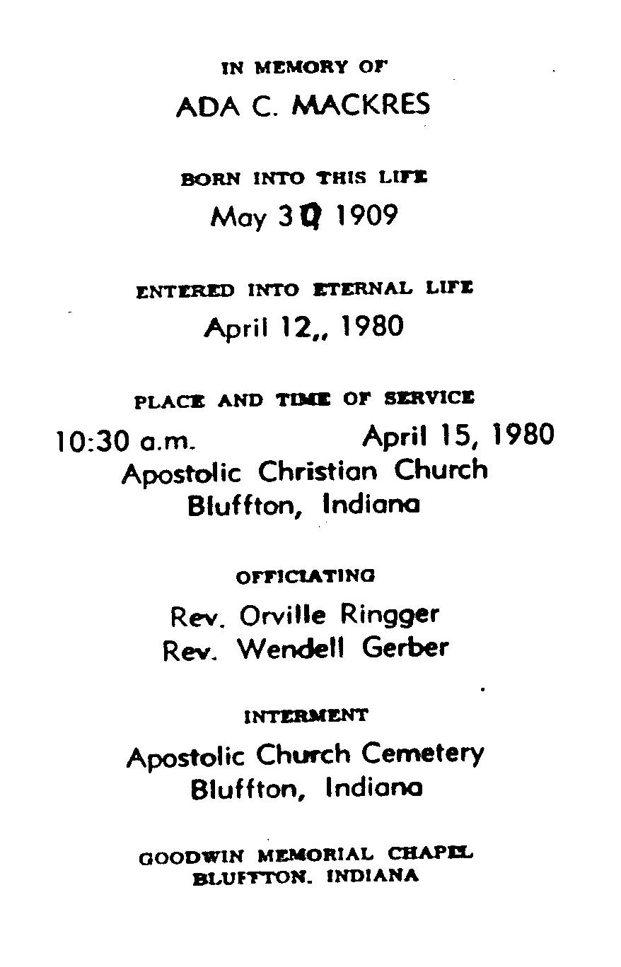Goodwin Funeral Home Bluffton