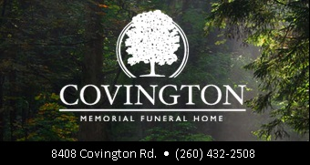 Covington Memorial Funeral Home ad
