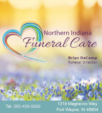 Northern Indiana Funeral Care ad