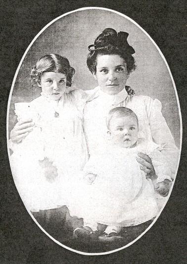 Bertha Allen Brown Amp Children 1904 Historical Photos